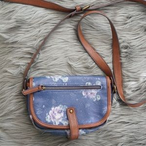 American eagle small crossbody bag floral pattern
